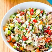 Grilled Fattoush Salad