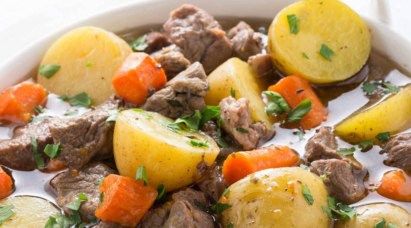 Pressure Cooker Irish Stew