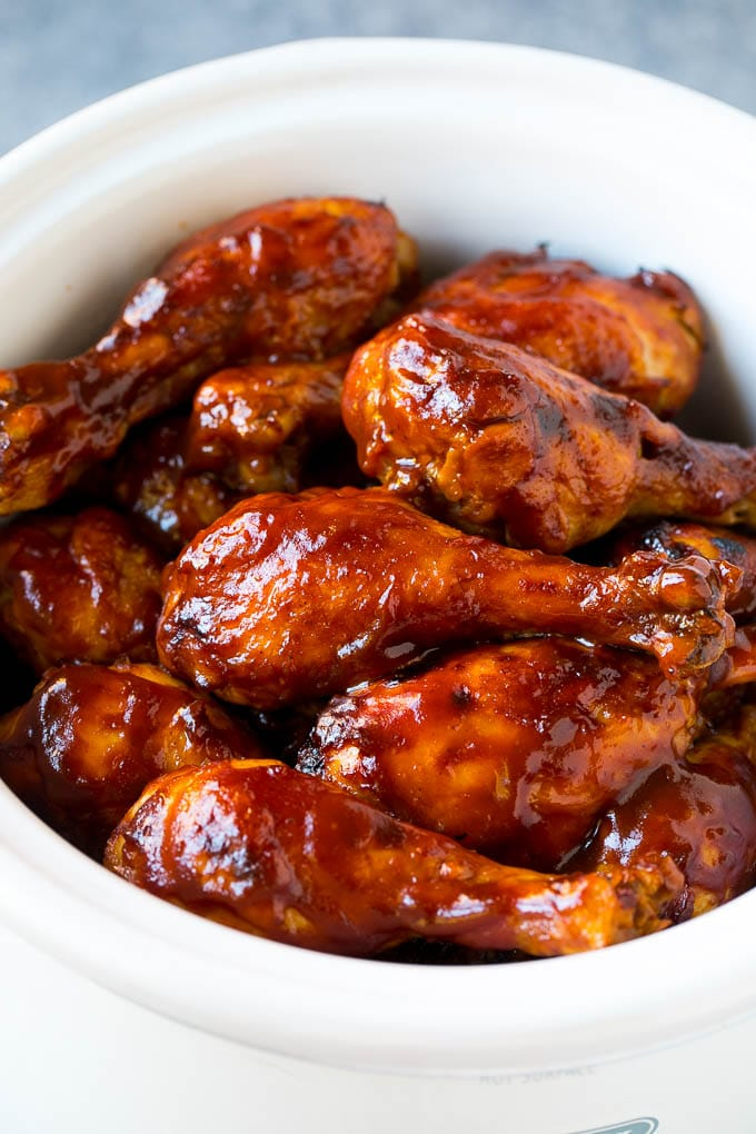 Slow Cooker Chicken Drumsticks